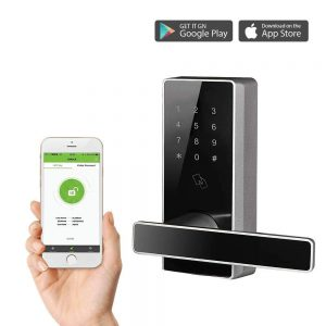 Cerradura inteligente biométrica ZKTeco