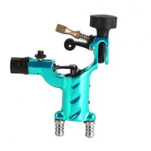 Máquina de tatuaje rotatorio en color azul