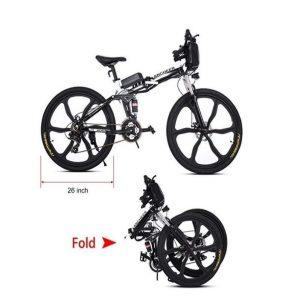 Bici eléctrica de 26 pulgadas y 27 velocidades