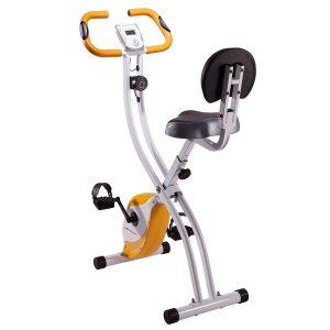 Bici estática con sensores de pulso