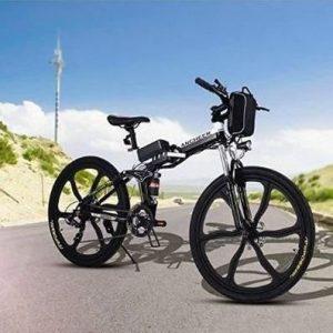 Bici plegable de montaña con batería