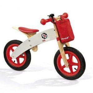 Bicicleta sin pedales de madera