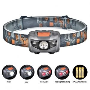 Linterna frontal LED Linkax